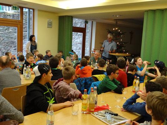 Unser Hans wusste eine lustige Weihnachtsgeschichte