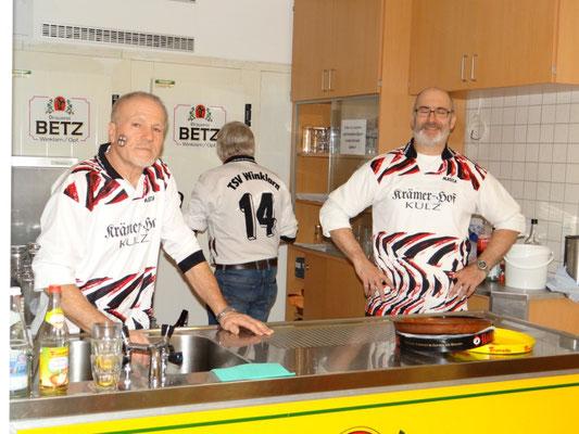 TSV-Ausschank-Team versorgte die durstigen Besucher