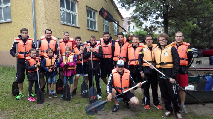 Am Samstag stand Team-Building auf dem Programm beim TSV. Bei einer Paddeltour von Nittenau Richtung Ramspau kam der Spaß nicht zu kurz :)