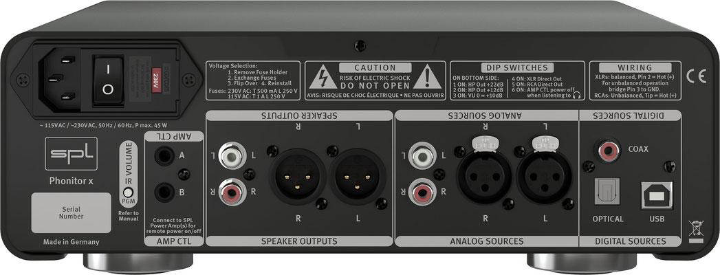 SPL Audio Phonitor x BACKSIDE