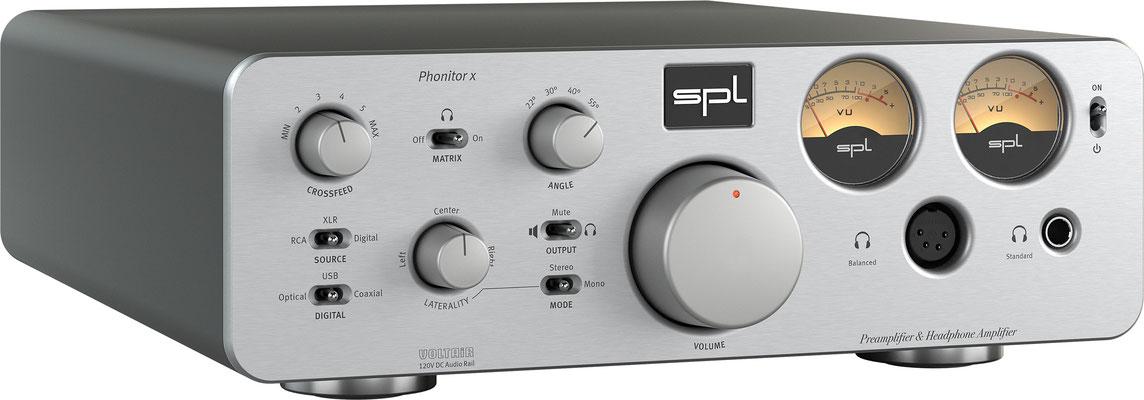 SPL Audio Phonitor x SILVER