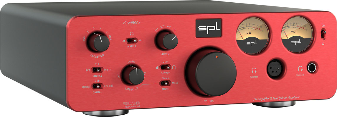 SPL Audio Phonitor x RED