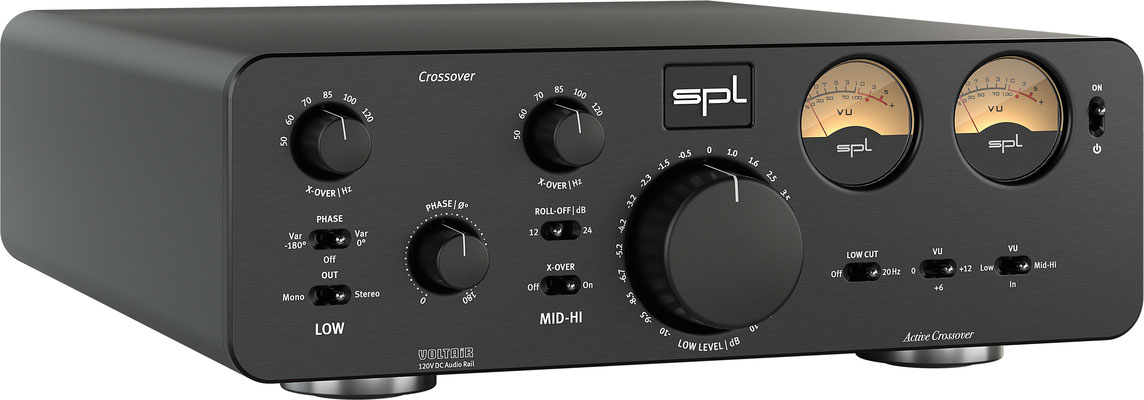 SPL Audio Crossover BLACK