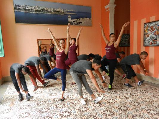 Dance teachers in action
