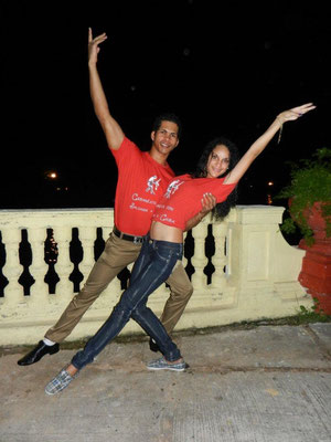 Profesores de Salsabor a Cuba: Chino y Yaneyvis