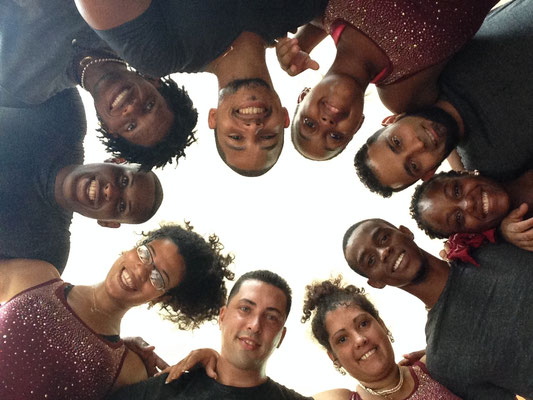 Dance teachers in a circle