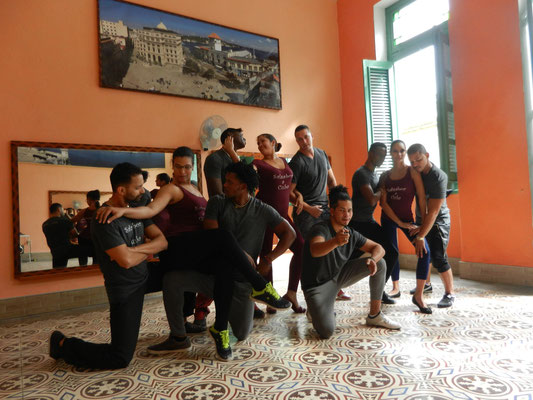 Dance teachers posing