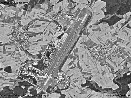 1976 Karte Flugplatz Büchel