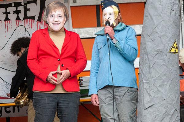 """""""Angela Merkel"""" und """"Ursula von der Leyen"""""""