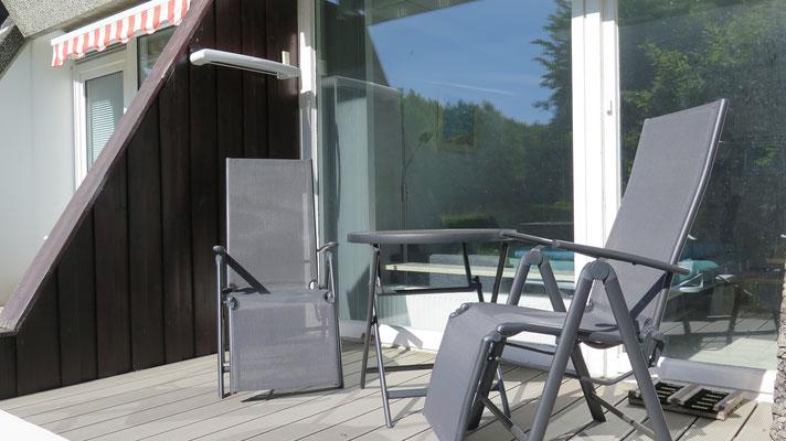 Terrasse 2018 neu renoviert!