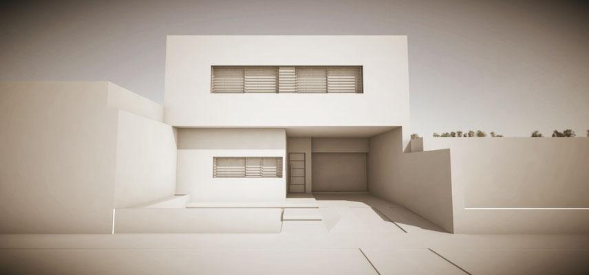 Casa Font - Casa minimalista Fisherton