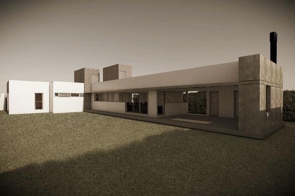 Casa 625 - Casa hormigón visto