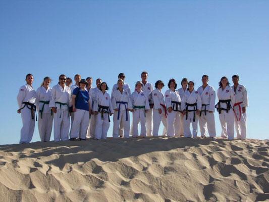 Training in der Sahara