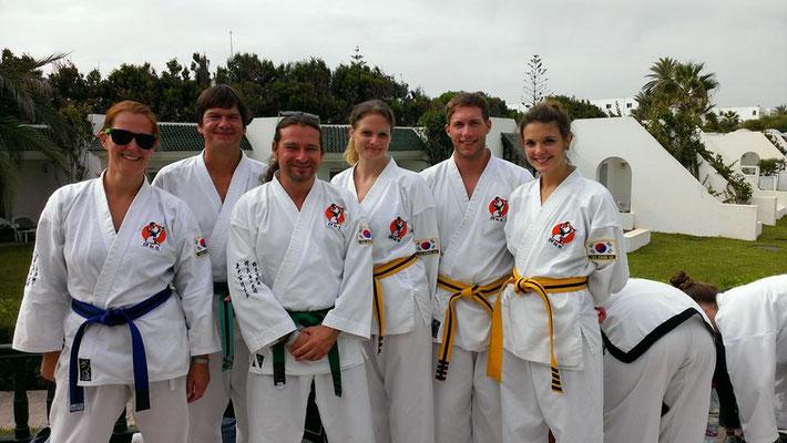 Erste Taekwondo-Reise: Camp in Tunesien