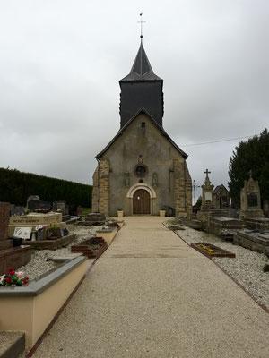 Entrée du cimetière 2017