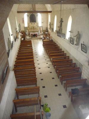 Intérieur de l'Église Saint Antoine Ermite 2016