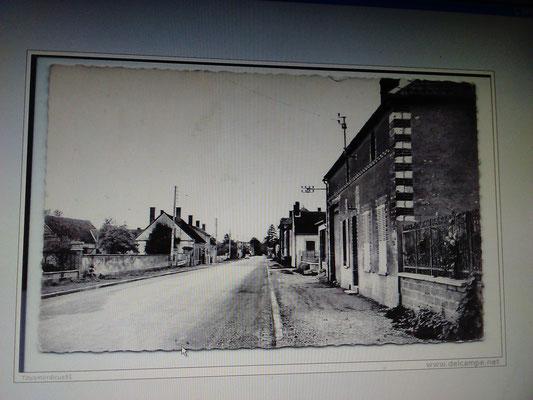 RD 660 en venant de Troyes après le Restaurant la Galerie