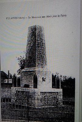 Le Monument Aux Morts pour la Patrie
