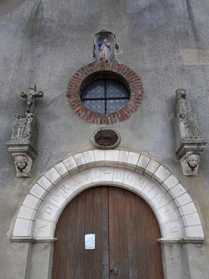 Portail de l'Eglise Saint Antoine 2017