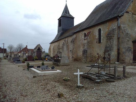 Côté Sud de l'Église 2017