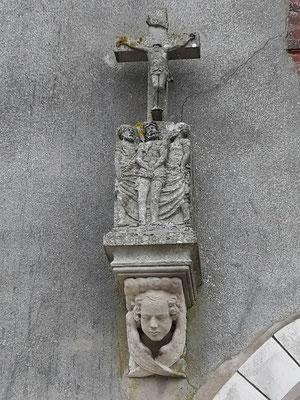 Côté gauche du portail