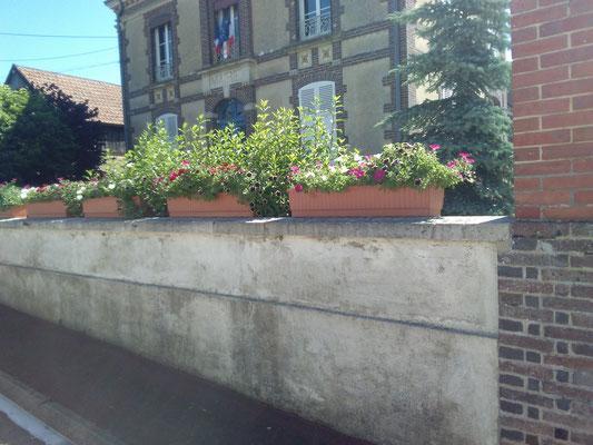 Fleurissement de la Mairie