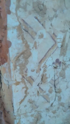 Fresque dans le clocher 2016