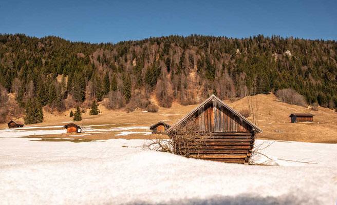 Am Geroldsee, Karwendel, Garmisch-Partenkirchen, Zugspitzregion
