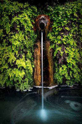 Der Park der Villa d'Este ist voller Brunnen aller Art
