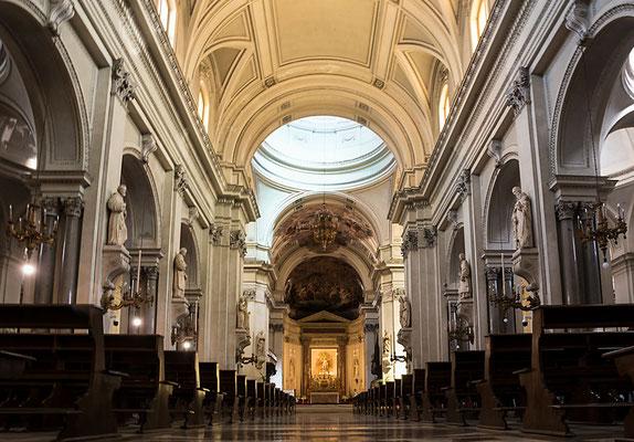 Im Inneren der Kathedrale von Palermo, Sizilien