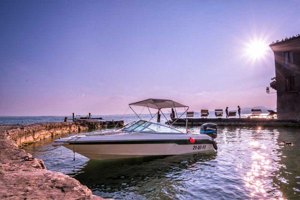 Punta San Vigilio, südöstlicher Gardasee, Italien