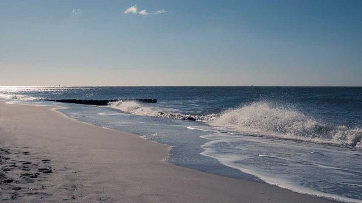 Die Brandung der Nordsee, Sylt