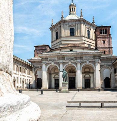 In den Mailänder Straßen, Mailand, Lombardei, Italien