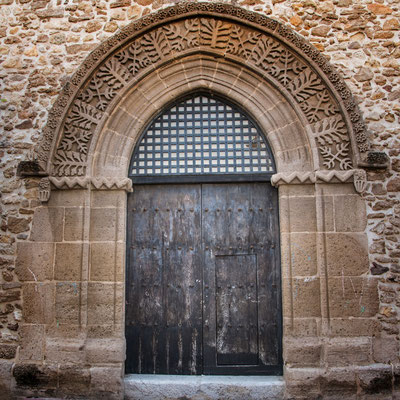 Kirchenportal, Sciacca, Sizilien