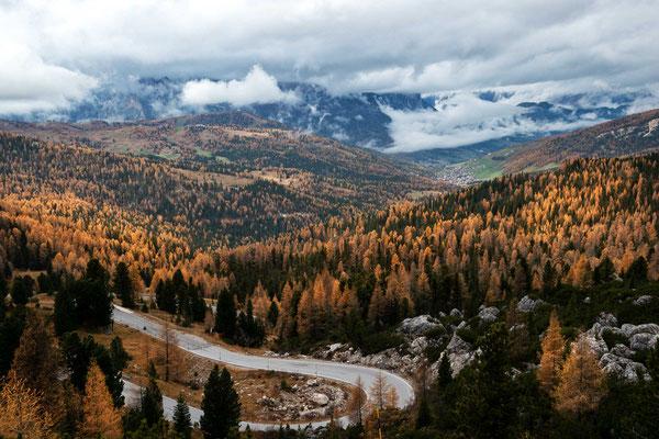 Blick ins Tal - Region Alta Badia