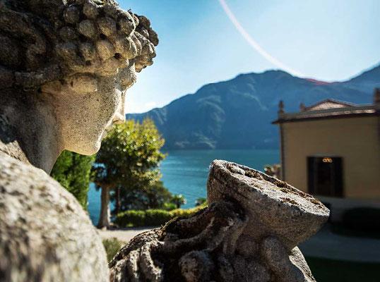 Villa Balbianello - Drehort bekannter Blockbuster wie James Bond und Starwars, am Westufer des Comer Sees gelegen, Comer See Region, Lombardei, Italien