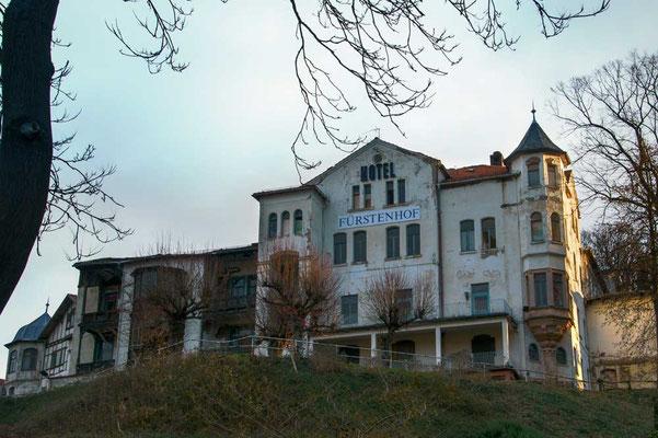 Einst prächtiges Hotel in Eisenach: Hotel Fürstenhof
