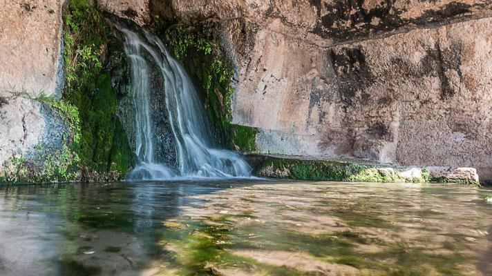 Ninfeo Grotte am Teatro Greco im Archäologischen Park, Syrakus