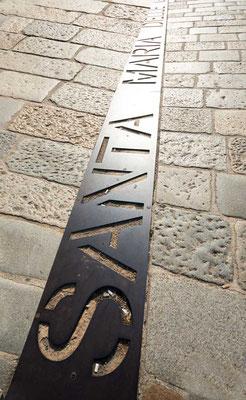 Zur Santa Maria delle Grazie, Mailand, Lombardei, Italien