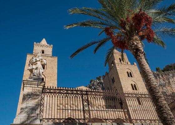 Der Dom von Cefalù, Sizilien