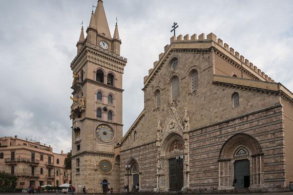 Der Dom von Messina, Sizilien