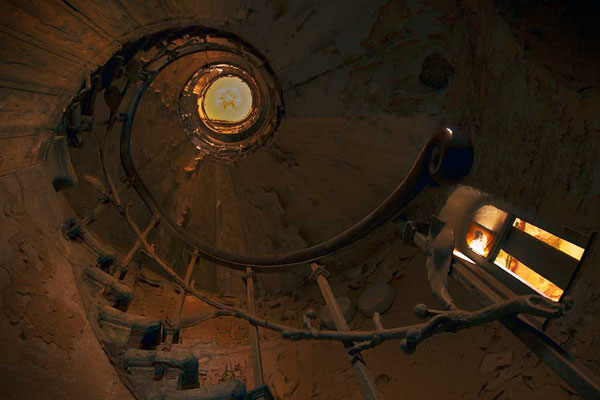 Treppenaufgang im Hotel Fürstenhof, Eisenach, Thüringen