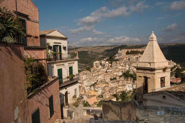 Panorama von Ragusa Ibla, Sizilien