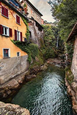 Orrido die Nesso am Ostufer des Comer Sees gelegen, Comer See Region, Lombardei, Italien