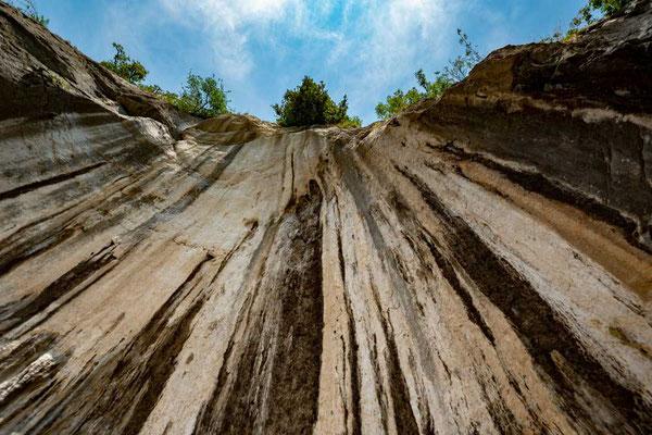 An den Marmite dei Giganti bei Torbole, nördlicher Gardasee, Italien