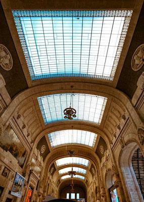 Der Mailänder Bahnhof, Mailand, Lombardei, Italien