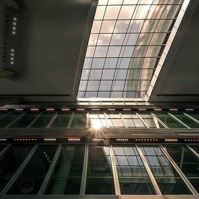 Glas, Stahl und Licht - was braucht´s mehr?