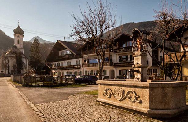 Farchant, das liebe Dorf, bei Garmisch-Partenkirchen