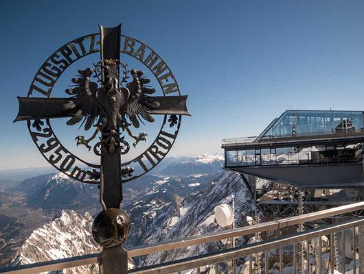 Österreiche Seite der Zugspitze