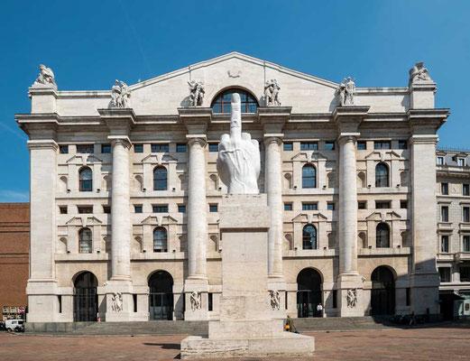 Mailänder Börse, Mailand, Lombardei, Italien